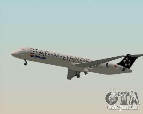 McDonnell Douglas MD-82 Spanair pour GTA San Andreas vue de côté