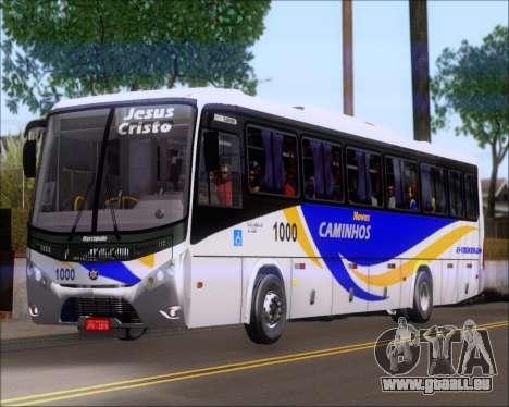 Marcopolo Ideale 770 - Volksbus 17-230 EOD pour GTA San Andreas sur la vue arrière gauche