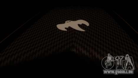 Koenigsegg Agera R pour GTA San Andreas vue de droite
