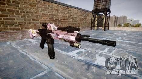 Fusil automatique Colt M4A1 kawaii pour GTA 4
