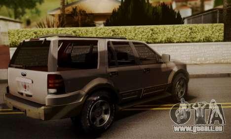 Ford Expedition 2006 pour GTA San Andreas laissé vue