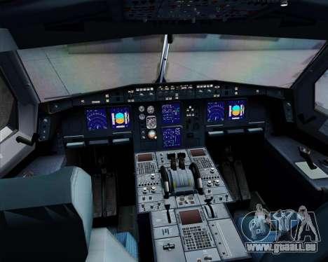 Airbus A340-312 TAP Portugal für GTA San Andreas obere Ansicht