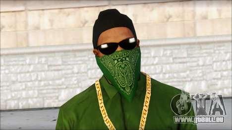 New CJ v4 pour GTA San Andreas troisième écran