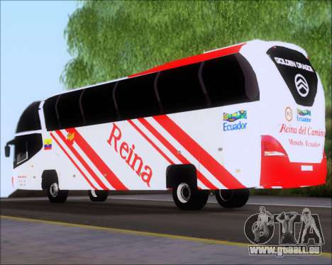 Golden Dragon Reina del Camino pour GTA San Andreas sur la vue arrière gauche