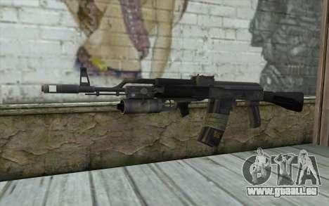 AK-101 sécurisé sur notre (Battlefield 2) pour GTA San Andreas