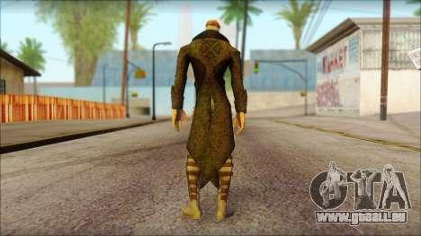 Gambit Deadpool The Game Cable pour GTA San Andreas deuxième écran