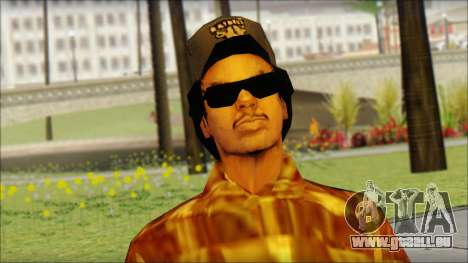 Eazy E Lumberjack Skin pour GTA San Andreas troisième écran