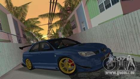 Subaru Impreza WRX STI 2006 Type 2 für GTA Vice City