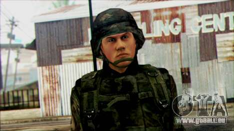 Les soldats de la garde Nationale des états-UNIS pour GTA San Andreas troisième écran