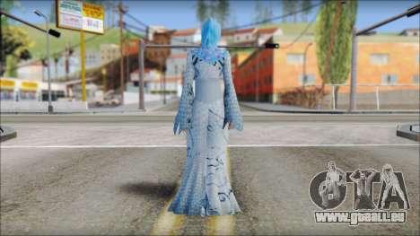 Gaza Tina Armstrong pour GTA San Andreas deuxième écran