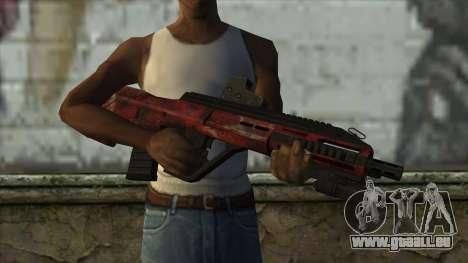AUG A3 from PointBlank v5 pour GTA San Andreas troisième écran
