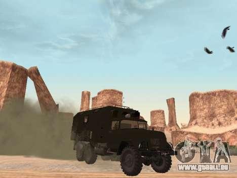 ZIL 131 Kung pour GTA San Andreas laissé vue