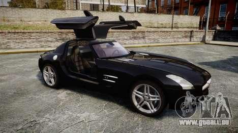 Mercedes-Benz SLS AMG [EPM] pour GTA 4 est une vue de l'intérieur