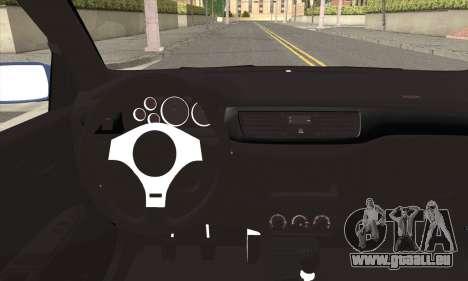 Mitsubishi Lancer Evolution IIX für GTA San Andreas zurück linke Ansicht