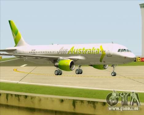 Airbus A320-200 Air Australia pour GTA San Andreas roue