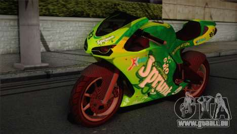 Bati RR 801 Sprunk pour GTA San Andreas