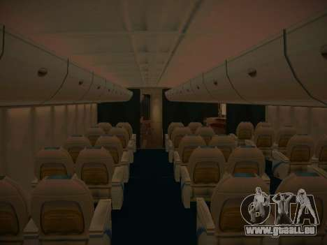 Airbus A380-800 Lufthansa pour GTA San Andreas moteur