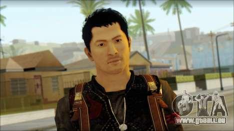 Wei Shen From Sleeping Dogs pour GTA San Andreas troisième écran