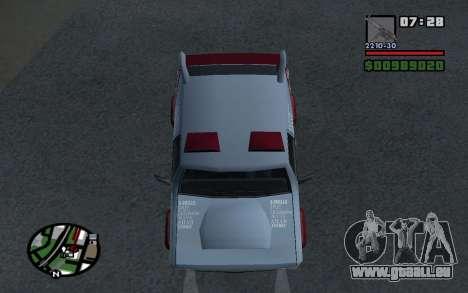 Mis À Jour Sandking pour GTA San Andreas vue de droite