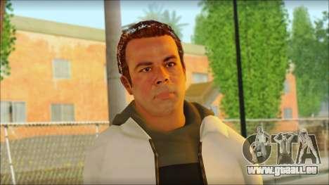 GTA 5 Ped 6 pour GTA San Andreas troisième écran