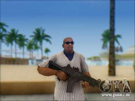 Israélien carabine ACE 21 pour GTA San Andreas troisième écran