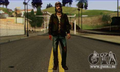 Kenny from The Walking Dead v3 für GTA San Andreas
