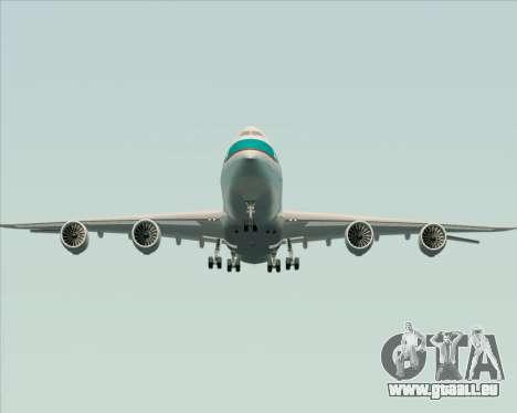 Boeing 747-8 Cargo Cathay Pacific Cargo pour GTA San Andreas vue de dessous
