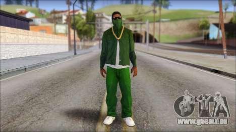 New CJ v4 pour GTA San Andreas