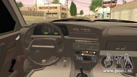ВАЗ 2109 M1 Mixfight pour GTA San Andreas sur la vue arrière gauche