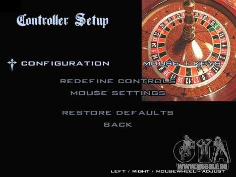 Menu Gambling für GTA San Andreas siebten Screenshot