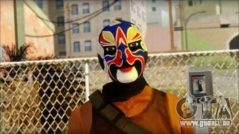 Rob v2 pour GTA San Andreas troisième écran