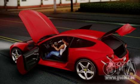 Ferrari FF 2012 pour GTA San Andreas vue de dessous