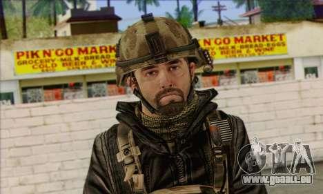 Task Force 141 (CoD: MW 2) Skin 14 für GTA San Andreas dritten Screenshot