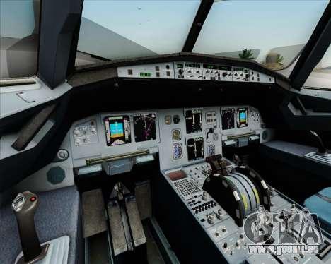 Airbus A320-211 Lufthansa für GTA San Andreas Innen