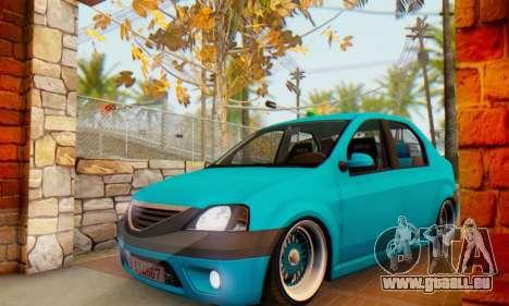 Dacia Logan Elegant pour GTA San Andreas