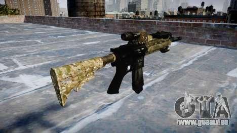 Automatic rifle Colt M4A1 devgru für GTA 4 Sekunden Bildschirm