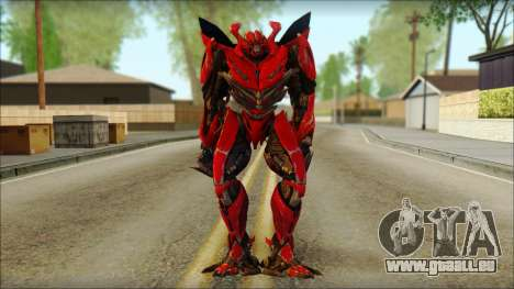 Dino Mirage (transformers Dark of the moon) v2 pour GTA San Andreas