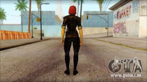 Mass Effect Anna Skin v5 pour GTA San Andreas deuxième écran
