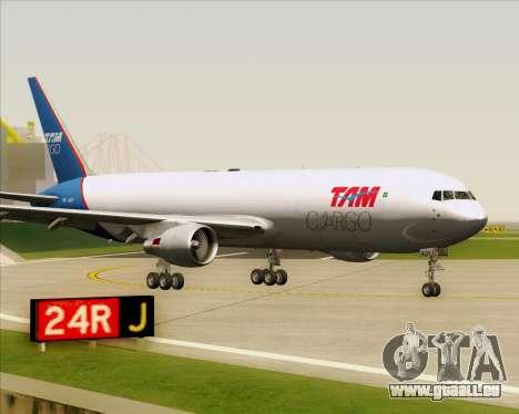 Boeing 767-300ER F TAM Cargo für GTA San Andreas linke Ansicht