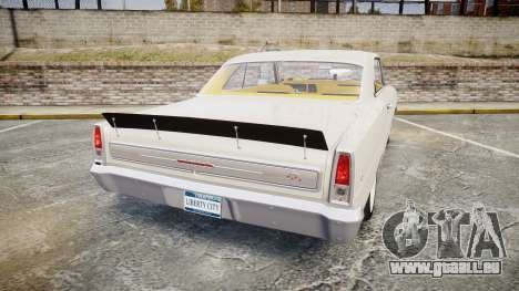 Chevrolet II Nova SS 1966 Custom [EPM] für GTA 4 hinten links Ansicht