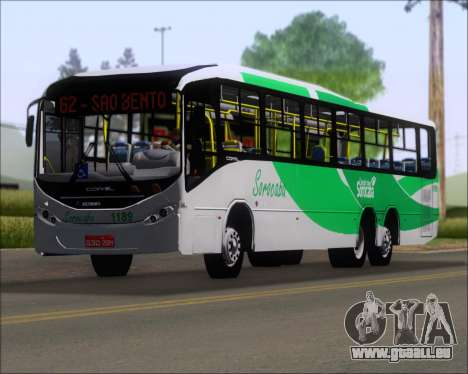 Comil Svelto BRT Scania K310IB 6x2 Sorocaba für GTA San Andreas Innen