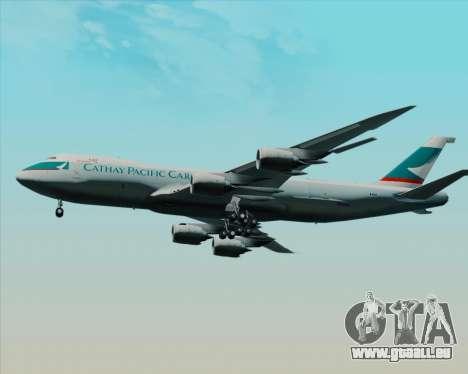 Boeing 747-8 Cargo Cathay Pacific Cargo pour GTA San Andreas vue intérieure