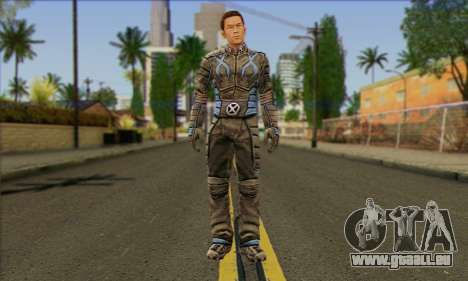 Айсмен (X-Men-Der Offizielle Spiel) für GTA San Andreas