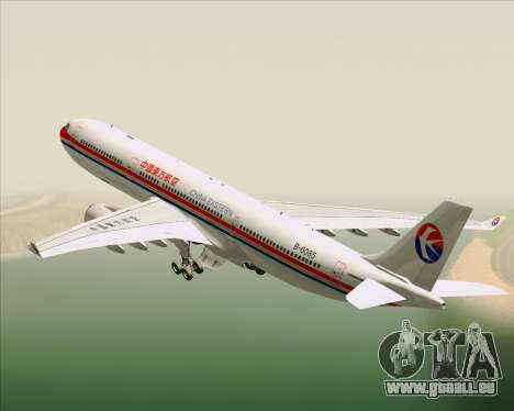 Airbus A330-300 China Eastern Airlines pour GTA San Andreas moteur