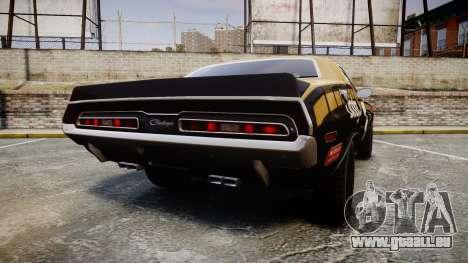 Dodge Challenger 1971 v2.2 PJ6 für GTA 4 hinten links Ansicht
