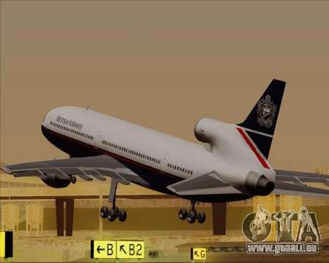 Lockheed L-1011 TriStar British Airways für GTA San Andreas Innen