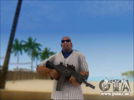 Israelische Karabiner ACE 21 für GTA San Andreas zweiten Screenshot