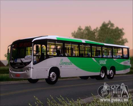 Comil Svelto BRT Scania K310IB 6x2 Sorocaba für GTA San Andreas Rückansicht