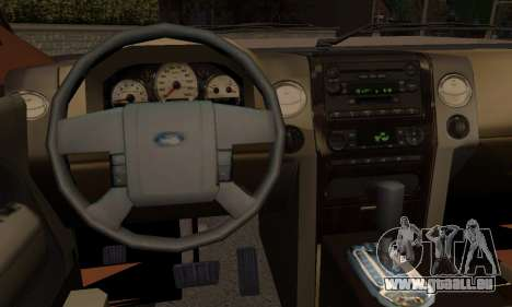 Ford Expedition 2006 für GTA San Andreas zurück linke Ansicht