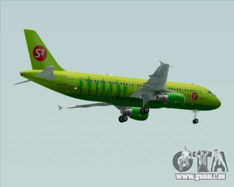 Airbus A320-214 S7-Siberia Airlines pour GTA San Andreas roue